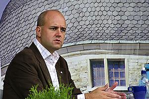 Fredrik Reinfeldt i Stadsparken Örebro © 2006 - Johan Gullberg